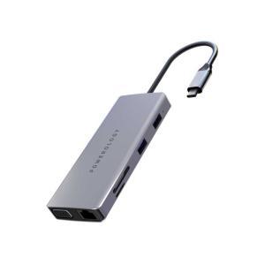 موزع 11 في 1 فائق السرعة لنقل البيانات بمنفذ USB-C للتمديد بالطاقة بقدرة 60 وات ومدخل USB-C 3.0