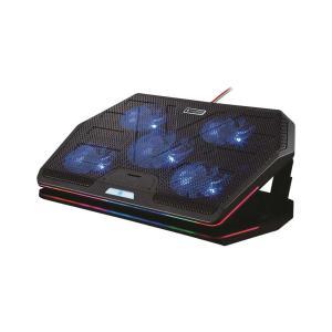 لوحة تبريد الألعاب متعددة المراوح من بورودو - أسود