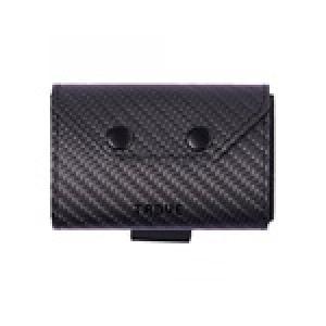 حقيبة- تروڤ النقود المعدنية: ألياف كربون سوداء