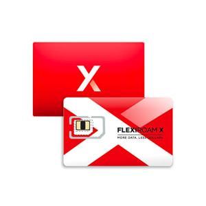 بطاقة SIM فليكسيروام إكس جلوبال داتا شريحة تجول دولية تعمل في أكثر من ١٠٠ دولة للإنترنت عالي السرعة